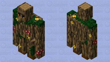Woodland golem (Biome Swap Contest) Minecraft Mob Skin