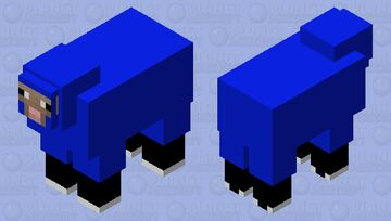 Sean the sheep Minecraft Mob Skin
