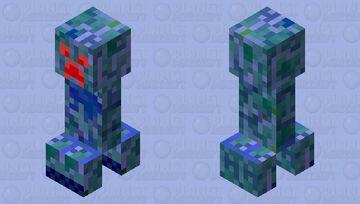 doomed creeper Minecraft Mob Skin