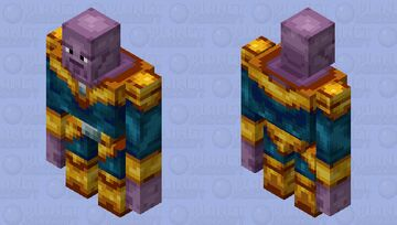 Thanos Minecraft Mob Skin
