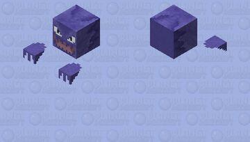 Haunter - Pokemon Zombie Replacer Minecraft Mob Skin