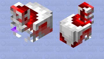 Infected chicken Minecraft Mob Skin