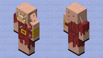 crimson piglin Minecraft Mob Skin