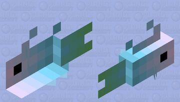 A fishish Minecraft Mob Skin