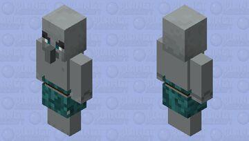 Warped forest vindicator  (For Ivan TheSpaceBiker) Minecraft Mob Skin