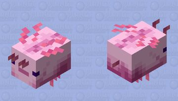 Fly-o-Lotl Minecraft Mob Skin