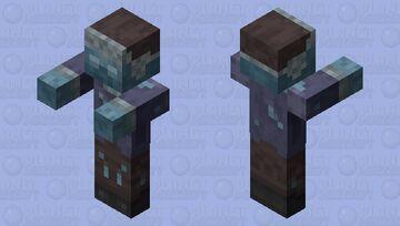 Frozen Zombie Minecraft Mob Skin