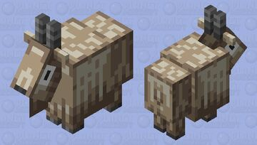 The Goat (Old Mob Design) (From Biome Vote) Minecraft Mob Skin
