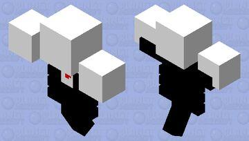 Slender wither Minecraft Mob Skin