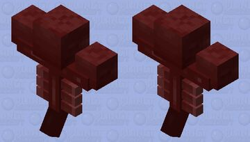Red Wither Minecraft Mob Skin