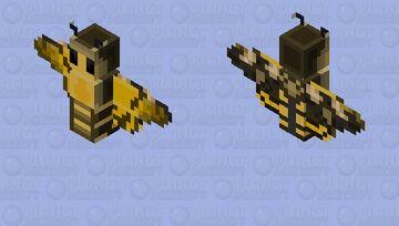 African Death's Head Hawkmoth Minecraft Mob Skin