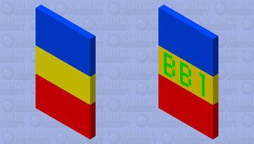 BlockyBird1 Parrot Cape Test Minecraft Mob Skin