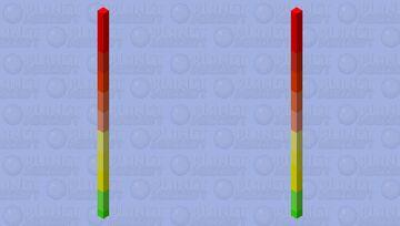 Rainbow stick Minecraft Mob Skin