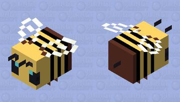 plastic bee [this finna become a texture pack] Minecraft Mob Skin