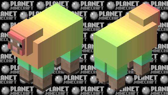 rainbow sheep 🌈 Minecraft Skin