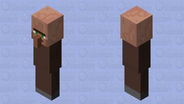 he got them leggs Minecraft Mob Skin