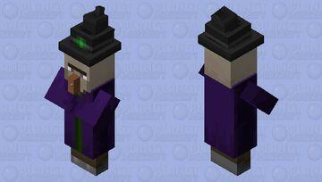 weird model witch Minecraft Mob Skin