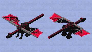 lightning dragon Minecraft Mob Skin