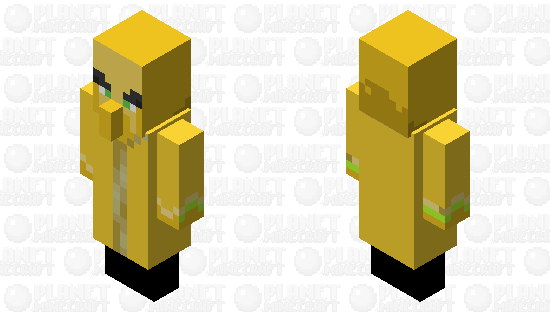 Totem of undying illager Minecraft Skin