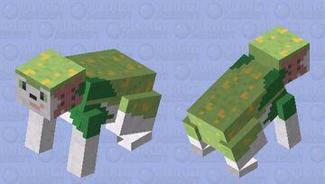Shaymin - Pokemon Rabbit Replacer Minecraft Mob Skin