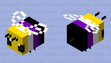 Non Bee Minecraft Mob Skin