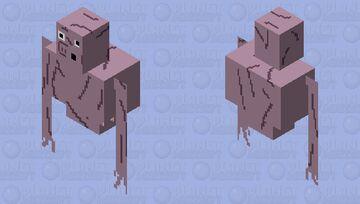 Ghost pig (Trevor Henderson) Minecraft Mob Skin