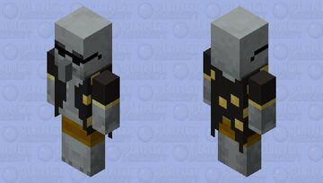Summer Evoker Minecraft Mob Skin