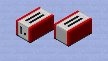 Hoglin Toaster Minecraft Mob Skin