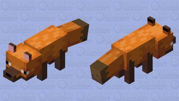 Rare fox Minecraft Mob Skin