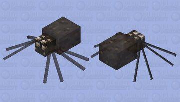 Daddy-Long-Legs Spider Minecraft Mob Skin
