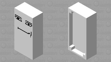 roblox man face bed Minecraft Mob Skin