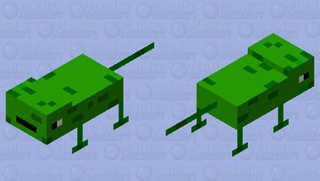 lizard Minecraft Mob Skin