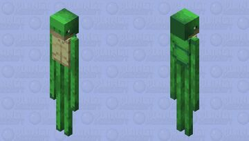 Turtleman Minecraft Mob Skin