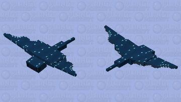 Phantom Oceania ( Prehistoric Phantom) Minecraft Mob Skin