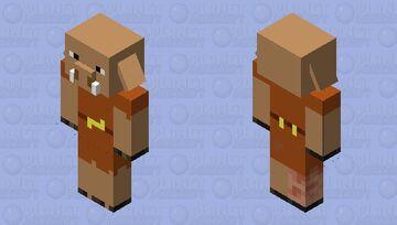 Simplified Piglin Minecraft Mob Skin