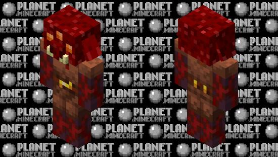 Crimson Piglin Minecraft Skin