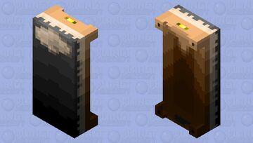 WWII Bed (Black) V.2 Minecraft Mob Skin