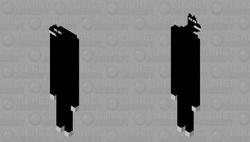 Cartoon woolf (Trevor Henderson) Minecraft Mob Skin