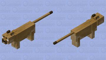 Floppa Minecraft Mob Skin