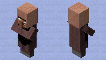 Villager Number 4 Minecraft Mob Skin