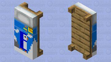 Penguin bed Minecraft Mob Skin