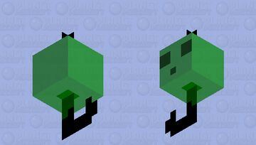 Slimy Fishing Bobber Minecraft Mob Skin