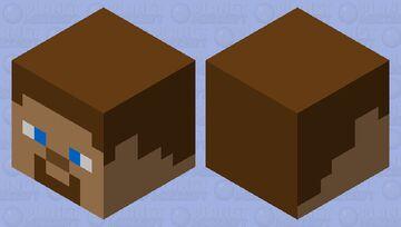 Steve head Minecraft Mob Skin