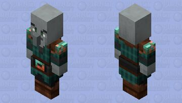 Pillagers re-texturing / level 1 / v3 Minecraft Mob Skin
