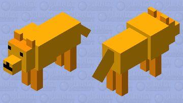 Alubrass doggo Minecraft Mob Skin