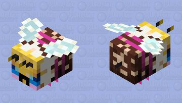 Sweeter - Angry with Pollen Minecraft Mob Skin