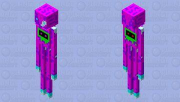 Finished upgraded Nova Enderman Minecraft Mob Skin
