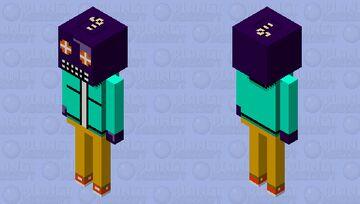 Whitty (friday night funkin) Minecraft Mob Skin