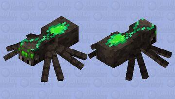 Warped Spider Minecraft Mob Skin