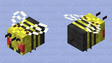 Wasp Minecraft Mob Skin